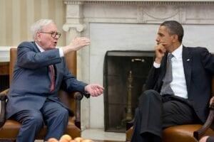 Warren Buffett im Austausch mit Obama