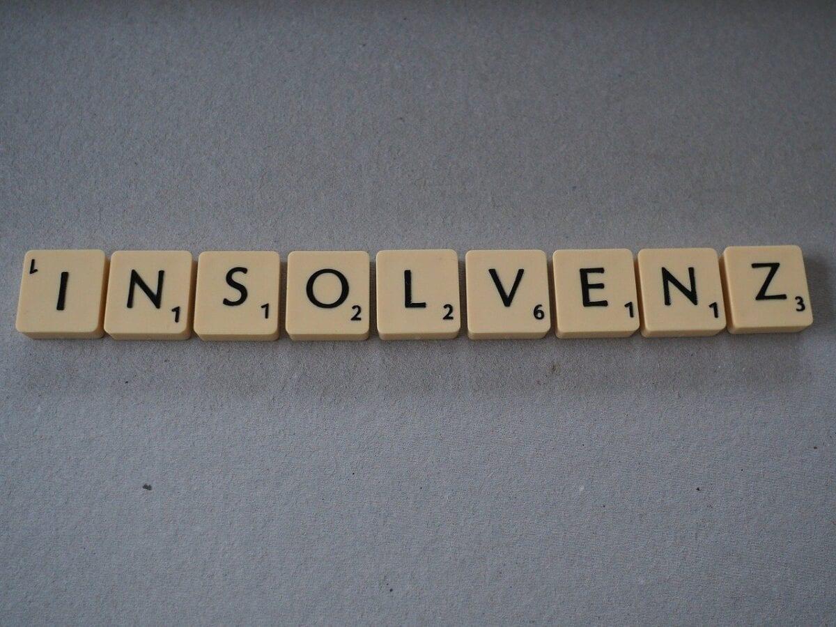 Insolvenz-Buchstaben