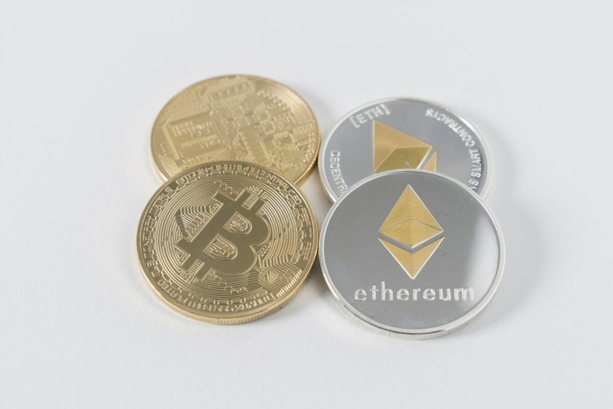 Bitcoin und Ethereum