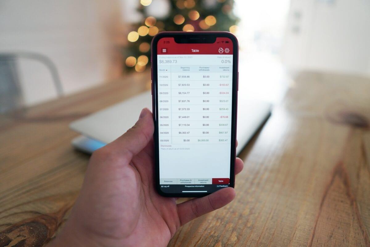 Trading von Aktien per App