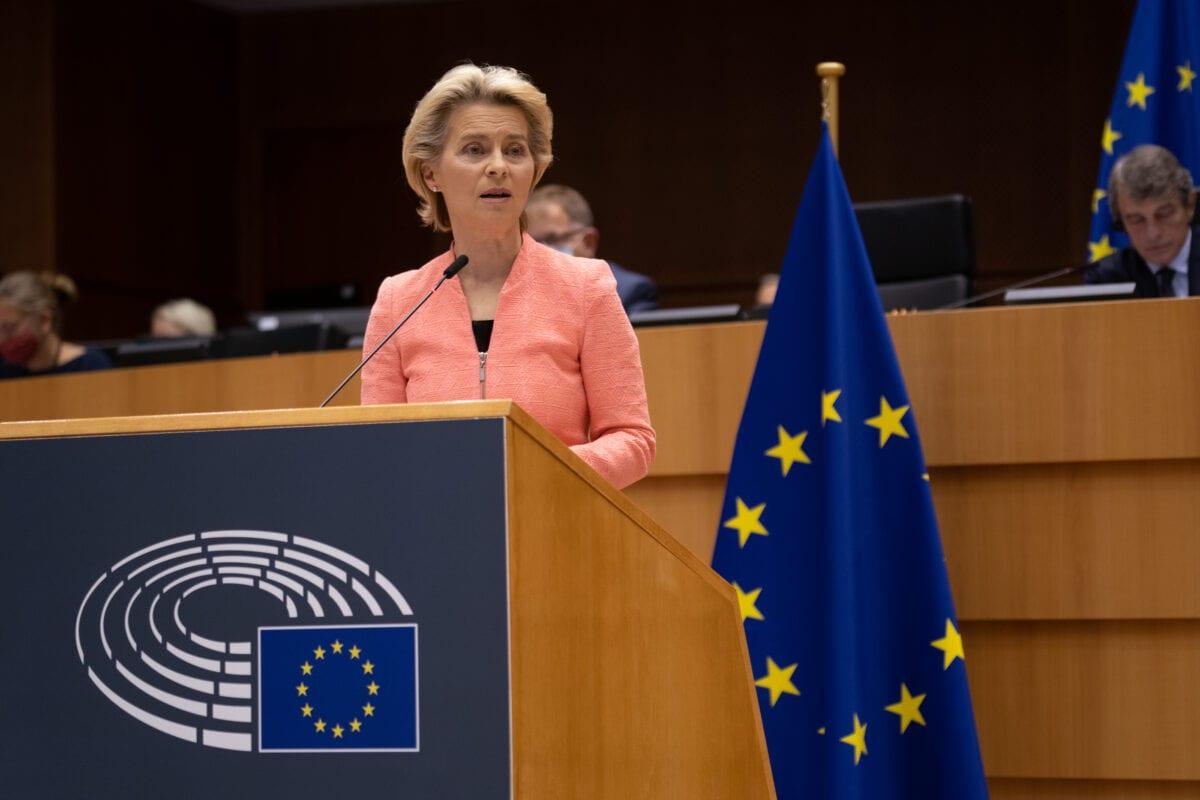 Ursula von der Leyen drängte für den EU-Wiederaufbaufonds