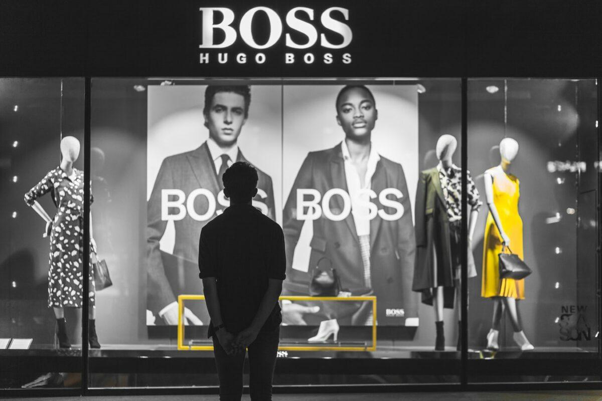 Hugo Boss steckt wie andere Modehändler in Schwierigkeiten