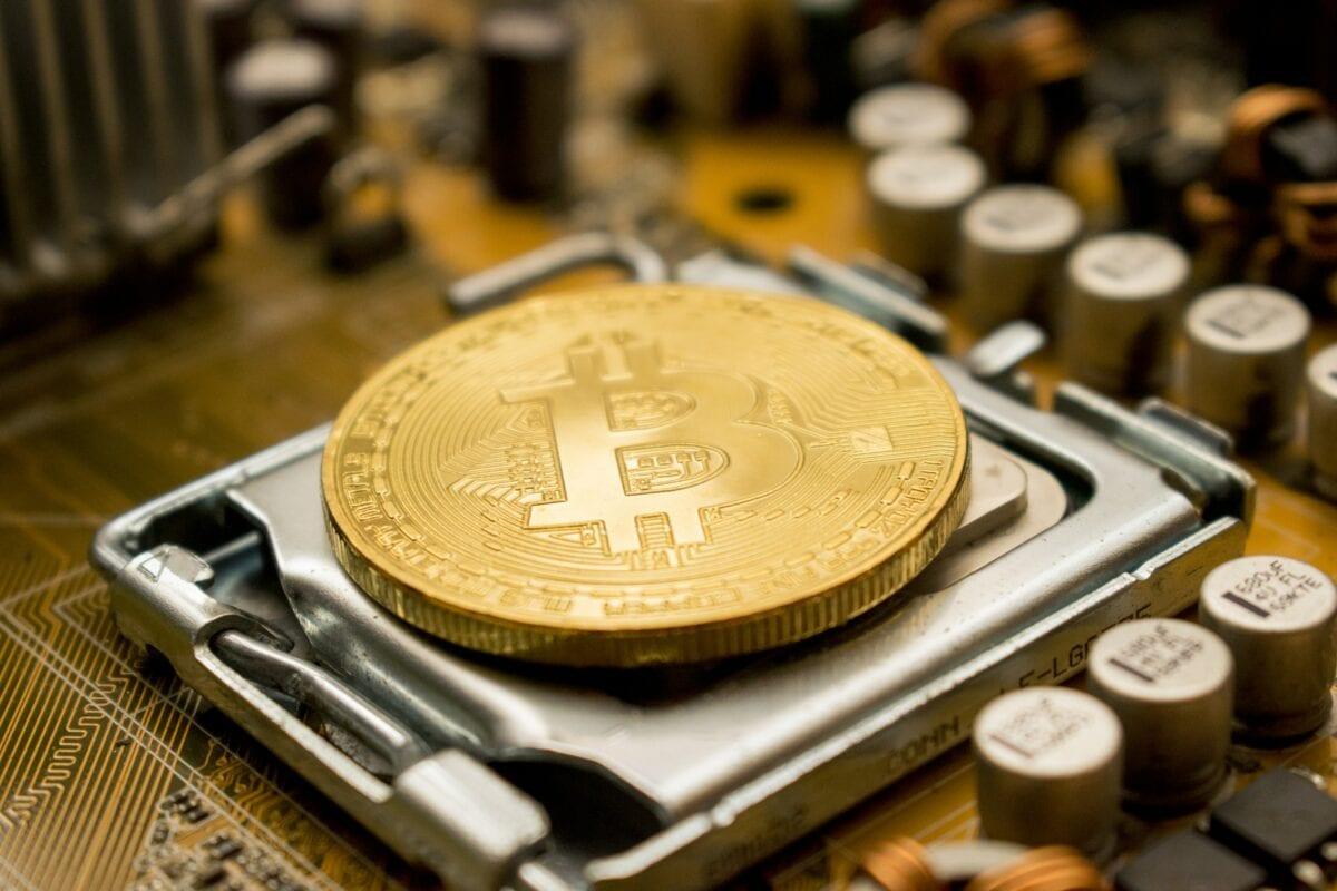 Symbolisches Bild für einen Bitcoin