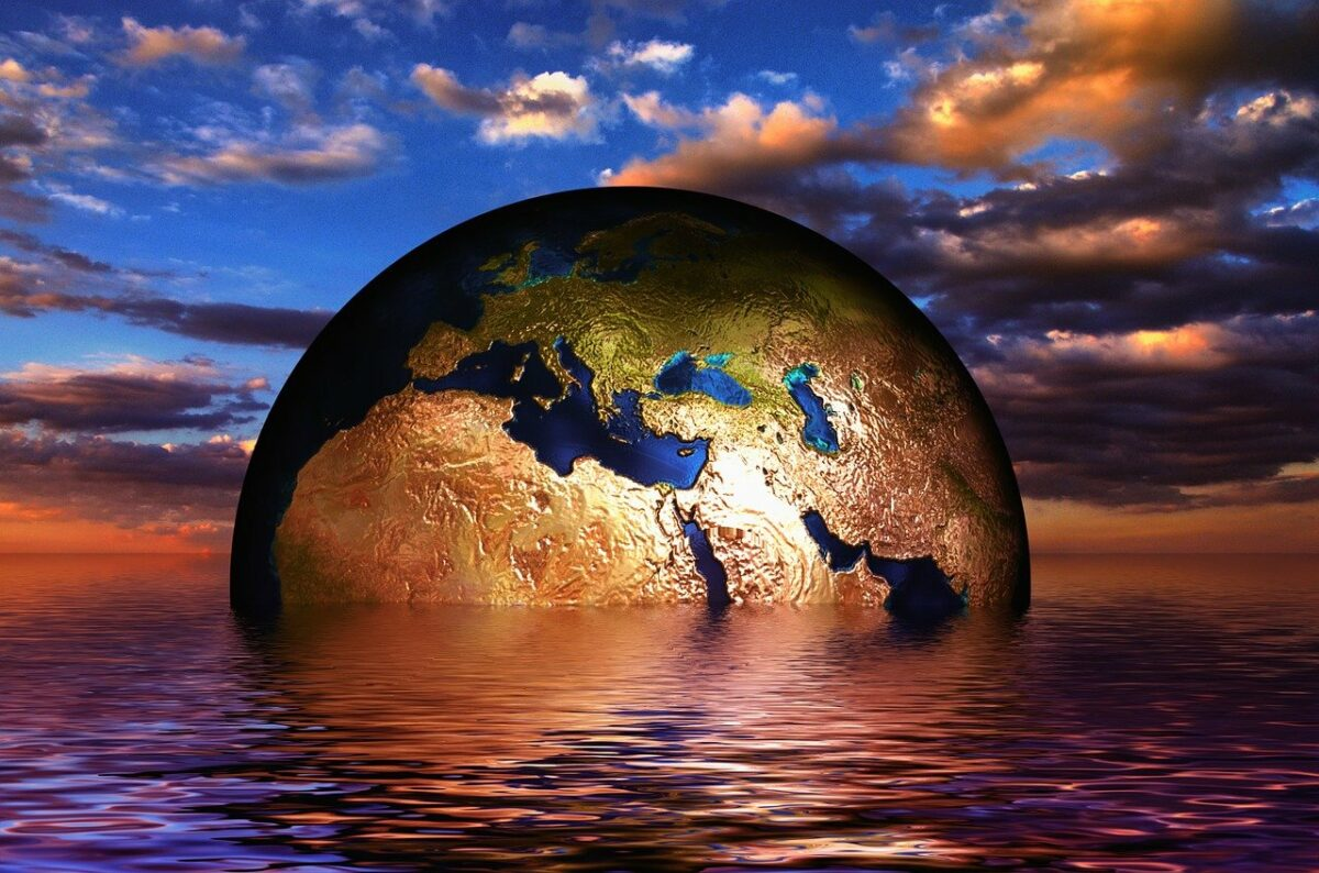Der Planet säuft ab