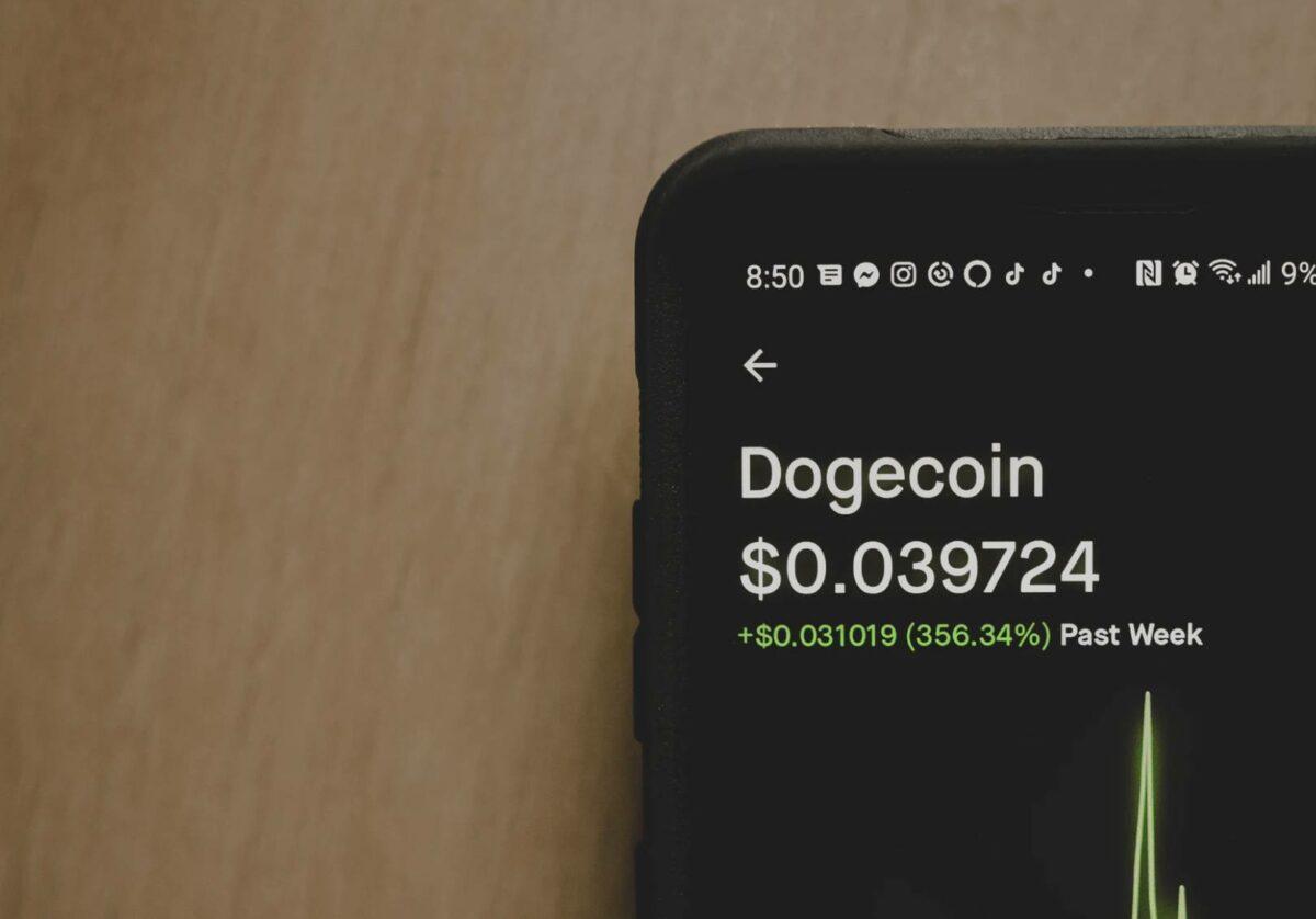 Dogecoin Trading auf Handy App
