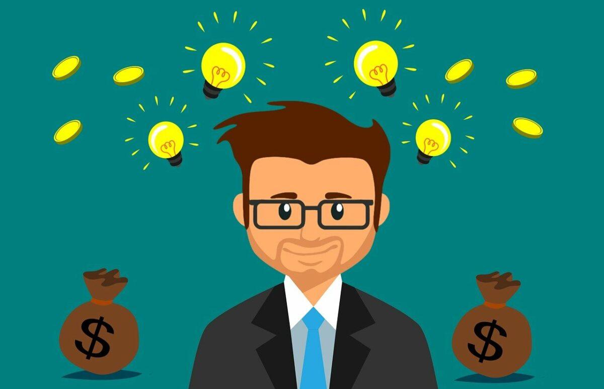 Investor mit Geld