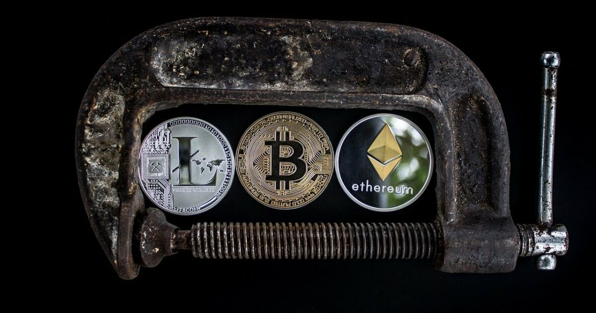 Symbolisches Bild für Kryptowährungen
