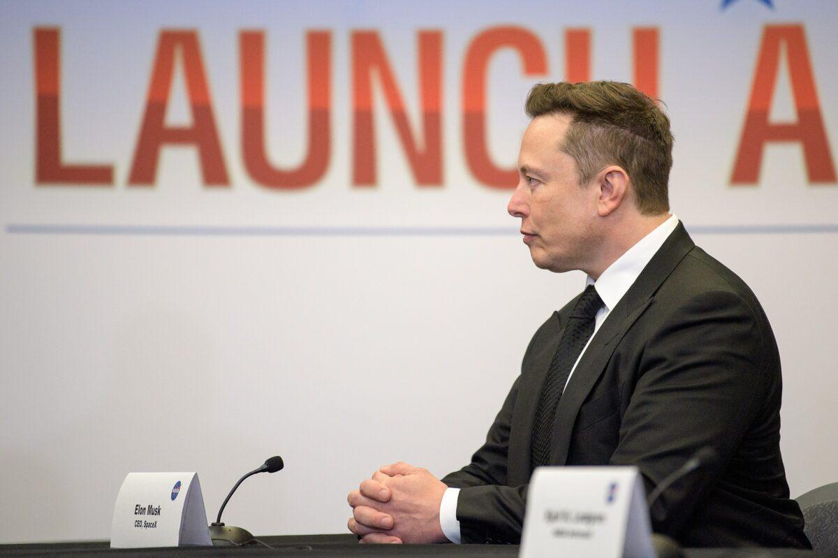 Elon Musk bei der NASA
