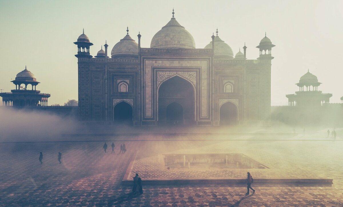 Das Taj Mahal wird als Symbol für Indien angesehen