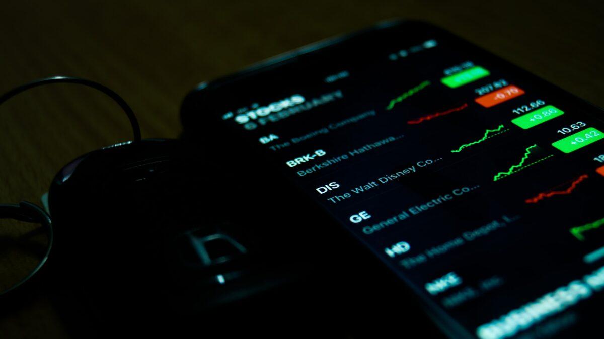 Aktienhandel über Börsen-App