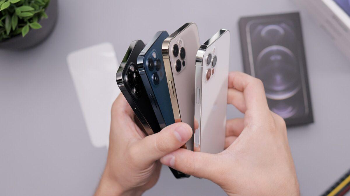 Die neuesten iPhone 12 Smartphones von Apple