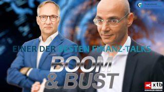 Finanz-Talk Boom & Bust auf finanzmarktwelt