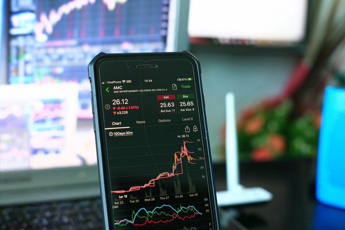Aktienhandel über Handy App