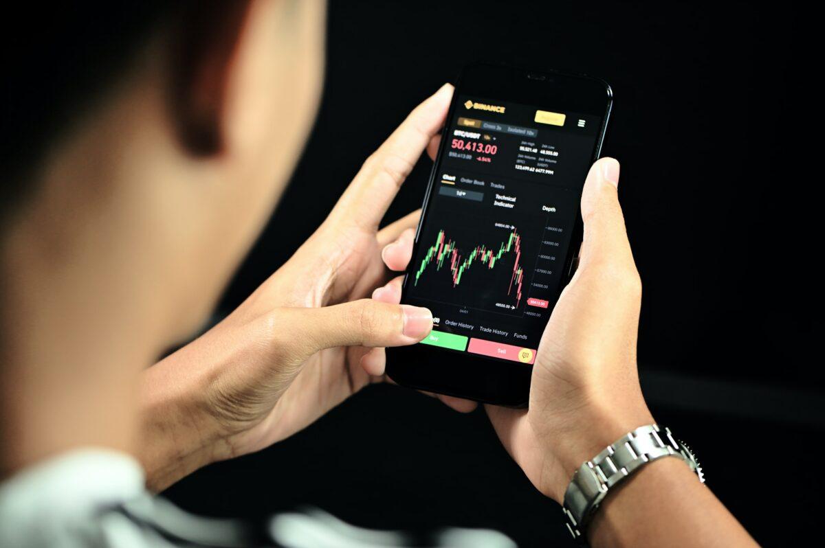 Trading über Smartphone App