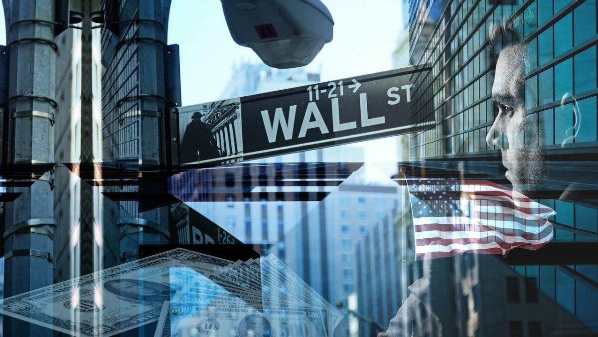 Das Wall Street-Straßenschild