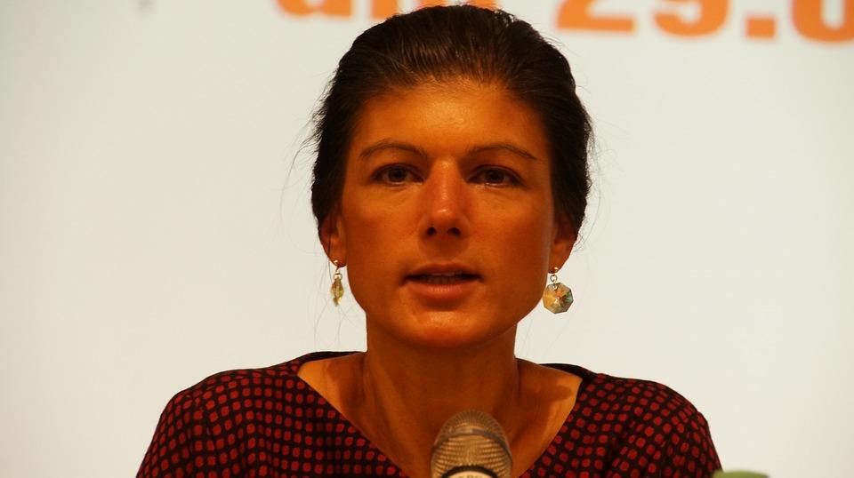 Sahra Wagenknecht über den inhaltsleeren Wahlkampf und Altersarmut