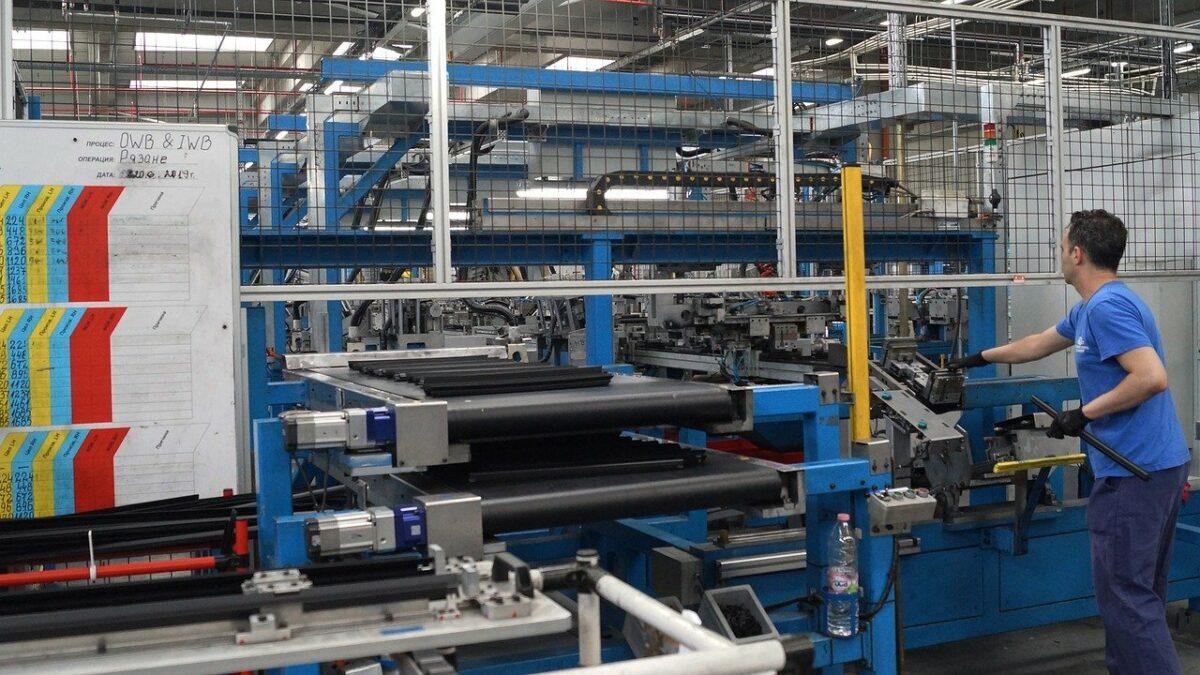 Produktion in der Autoindustrie