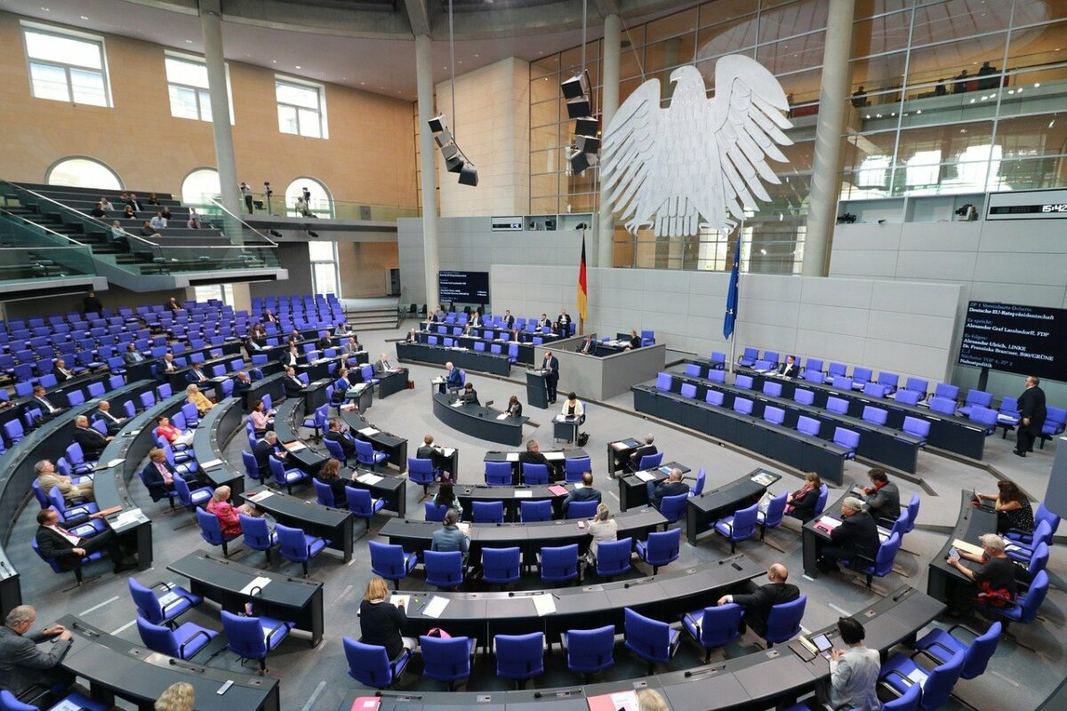 Bei der Bundestagswahl am Sonntag wird ein neuer Bundestag gewählt