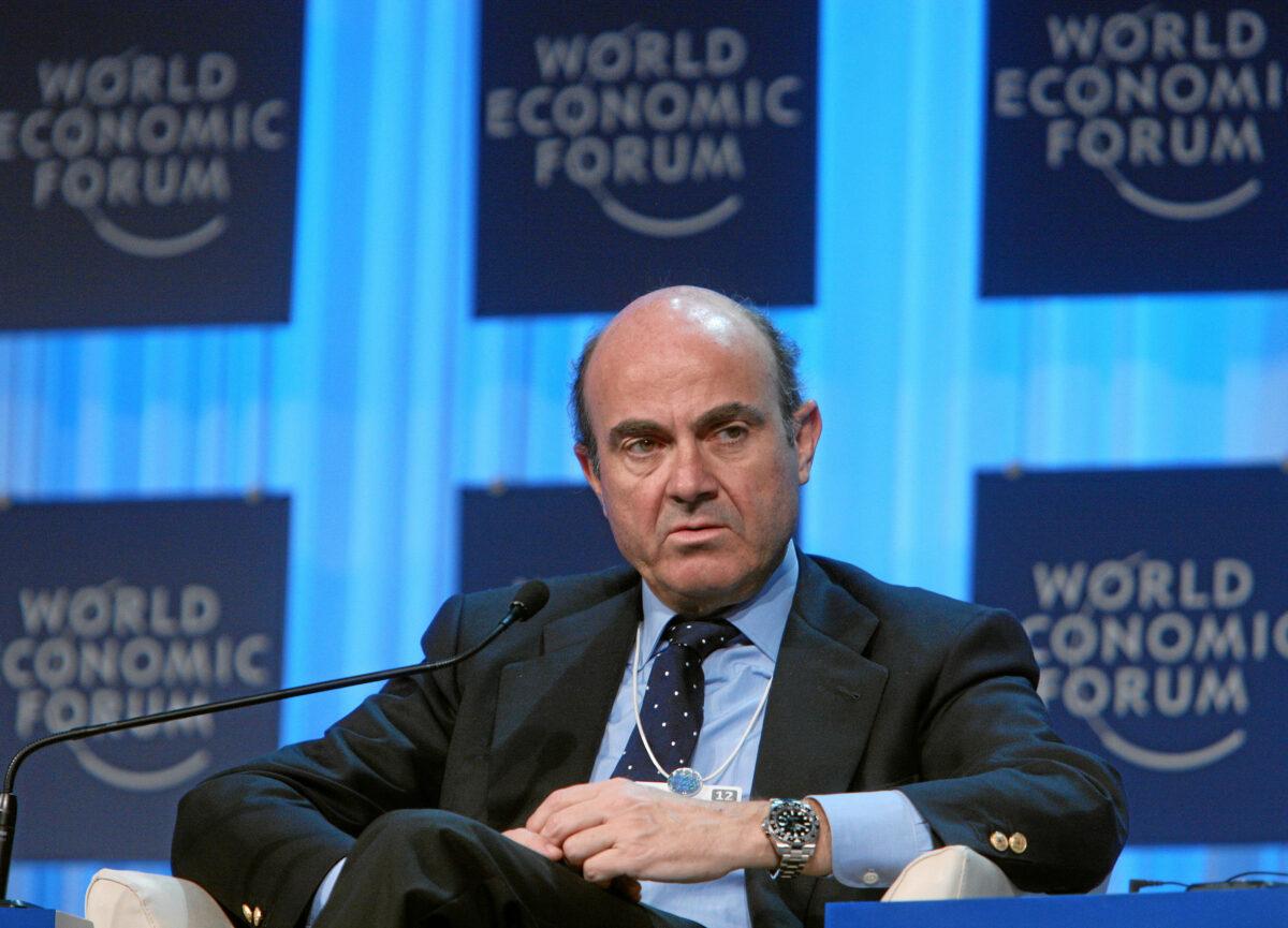 EZB Vizepräsident Luis de Guindos