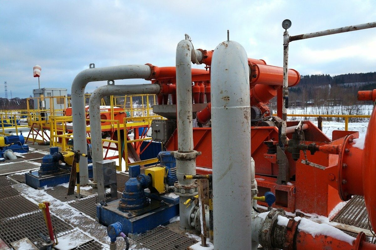 Bohrung nach Fracking-Gas