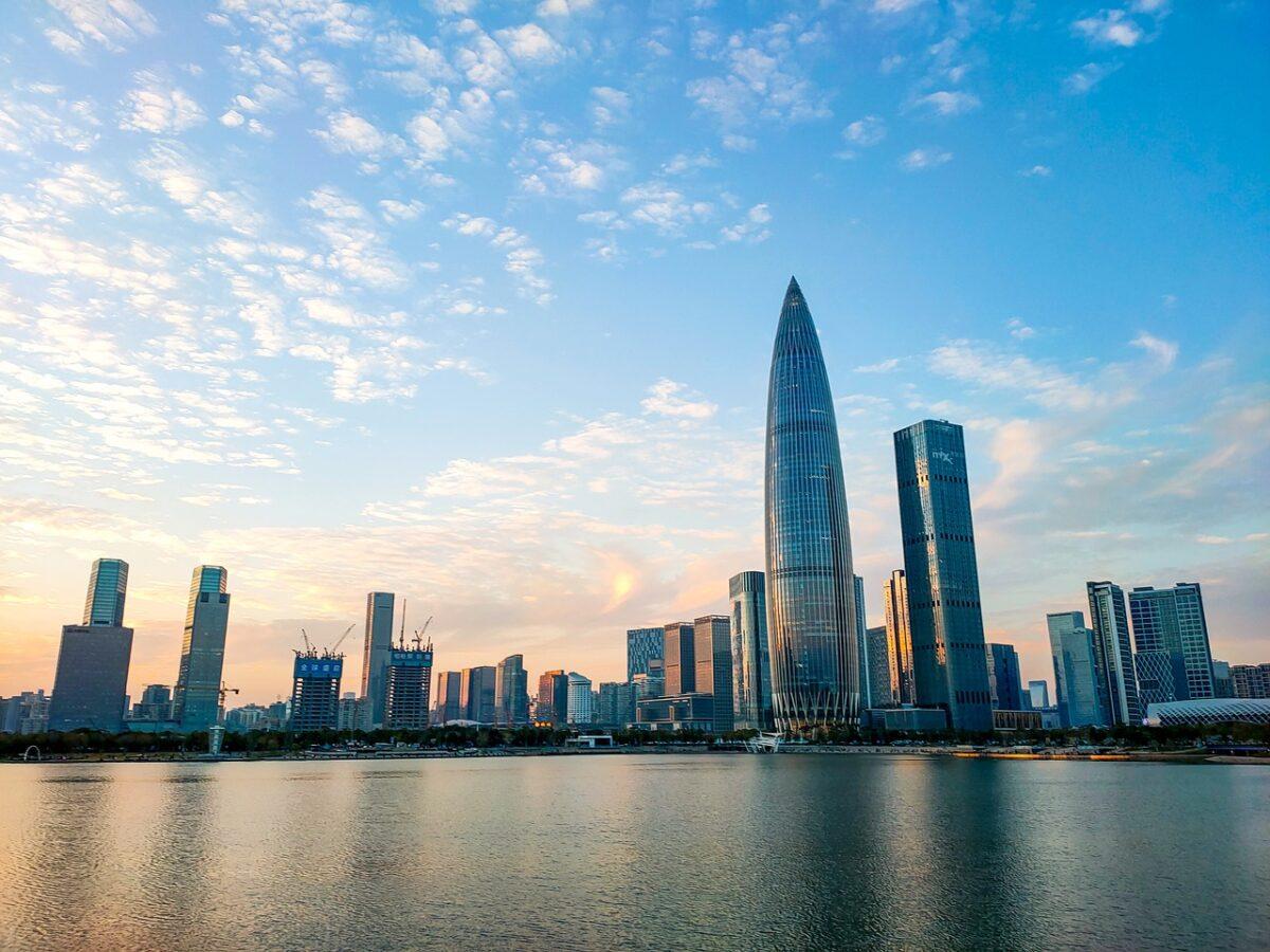 Shenzhen ist eine große Stadt in China
