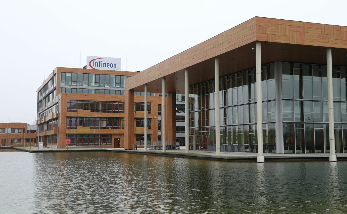 Die Unternehmenszentrale von Infineon